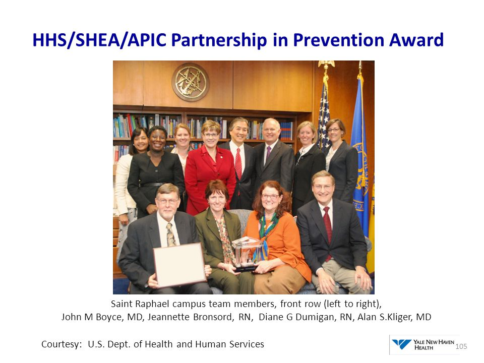 HHS/SHEA/APIC Partnership in Prevention Award