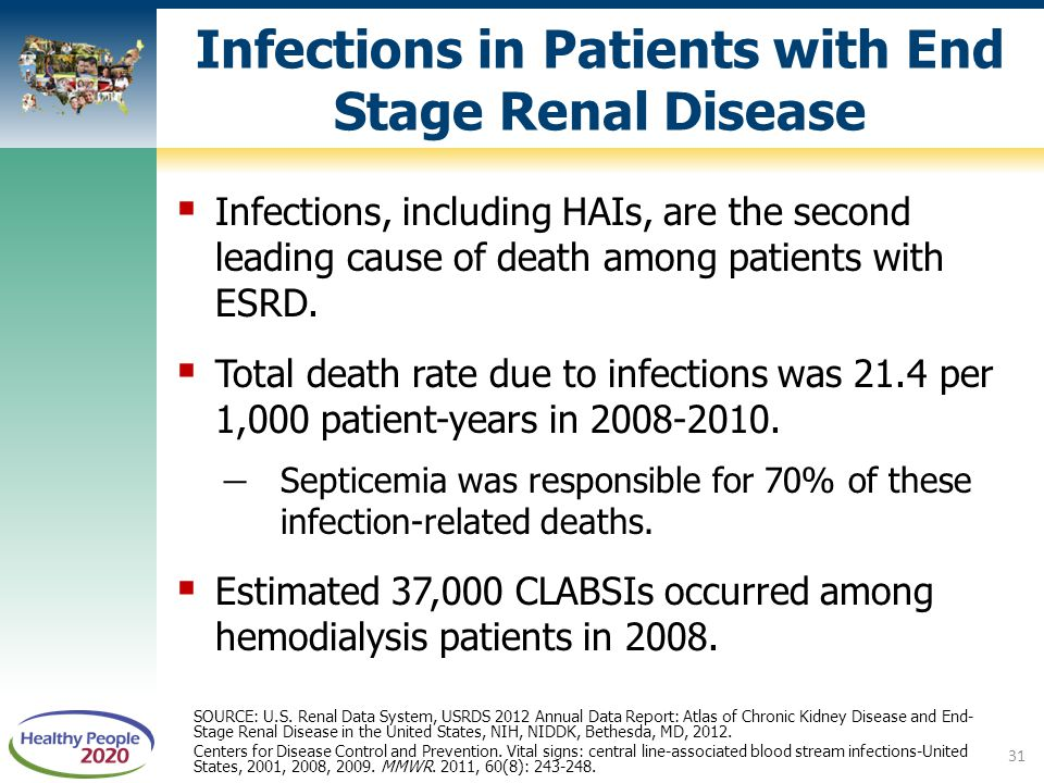 Infections in Patients with End Stage Renal Disease