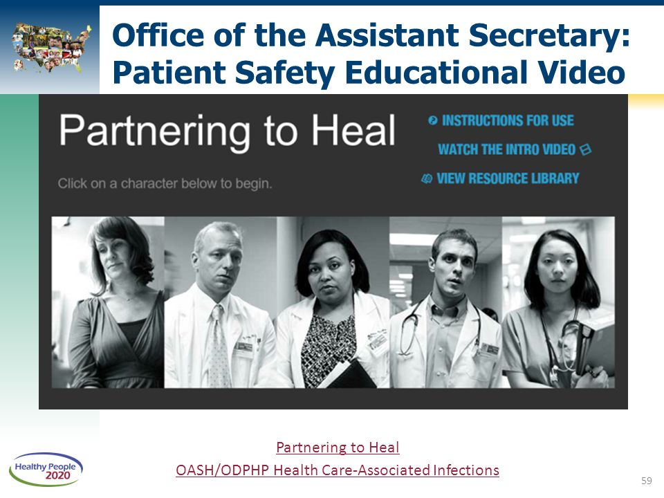 Office of the Assistant Secretary: Patient Safety Educational Video