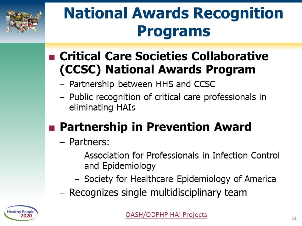 National Awards Recognition Programs
