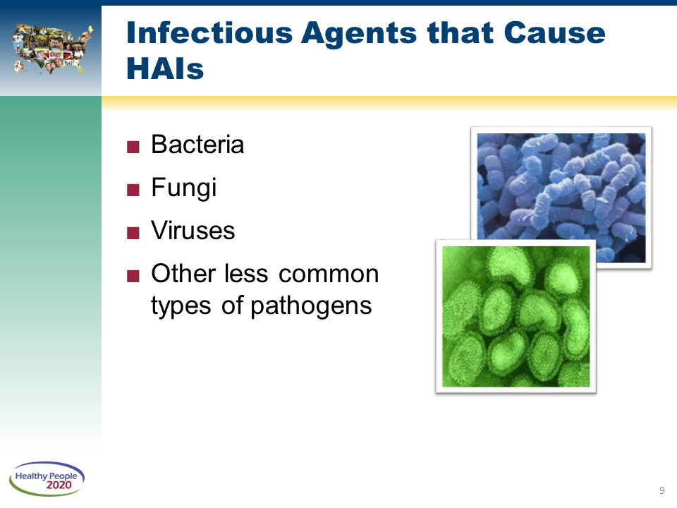 Infectious Agents that Cause HAIs