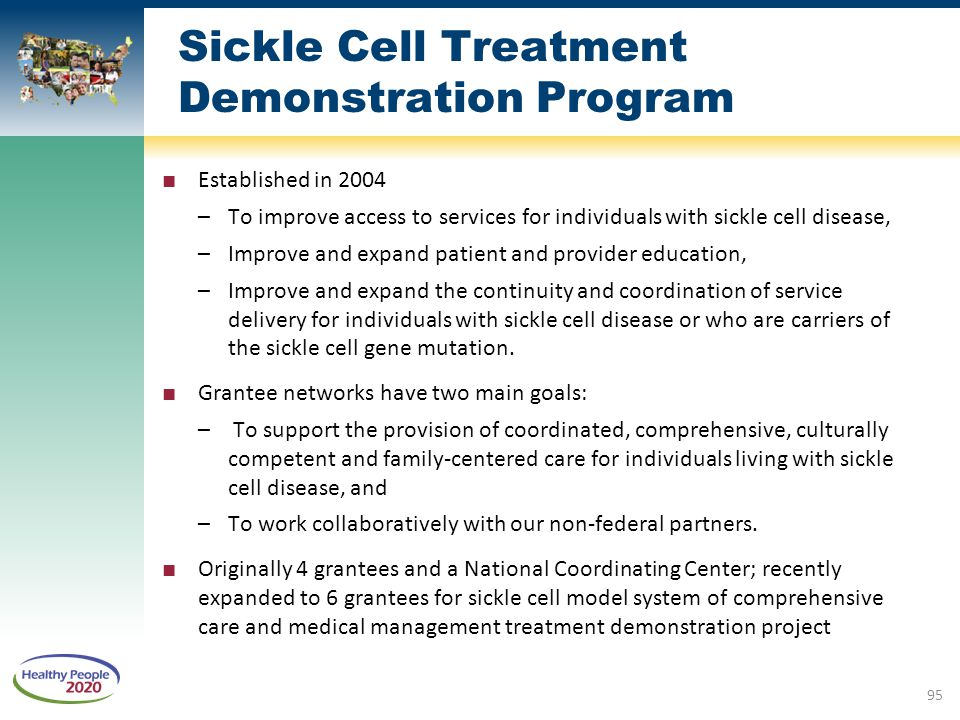 Sickle Cell Treatment Demonstration Program