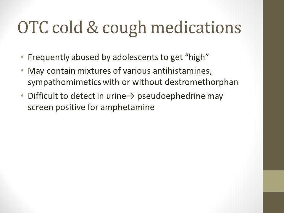 OTC cold & cough medications