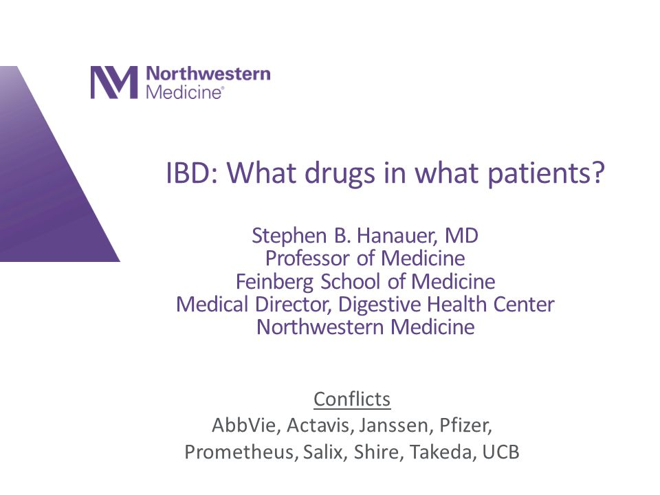IBD: What drugs in what patients