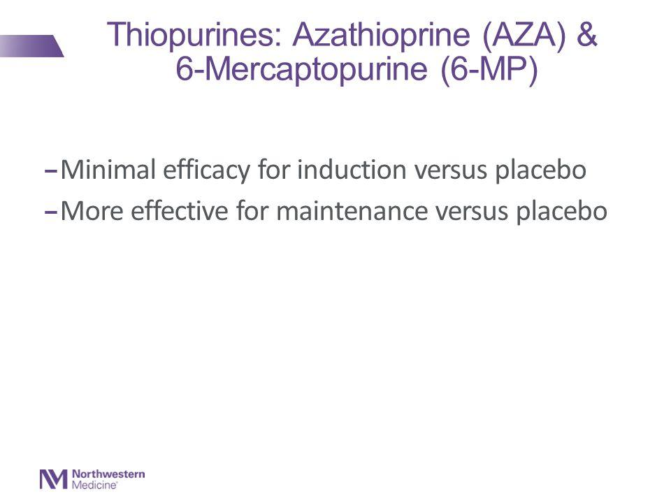 Thiopurines: Azathioprine (AZA) & 6-Mercaptopurine (6-MP)