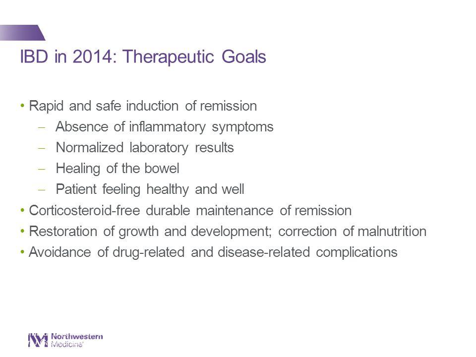 IBD in 2014: Therapeutic Goals