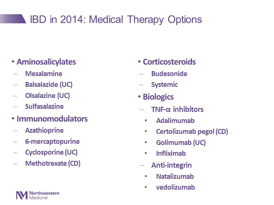IBD in 2014: Medical Therapy Options
