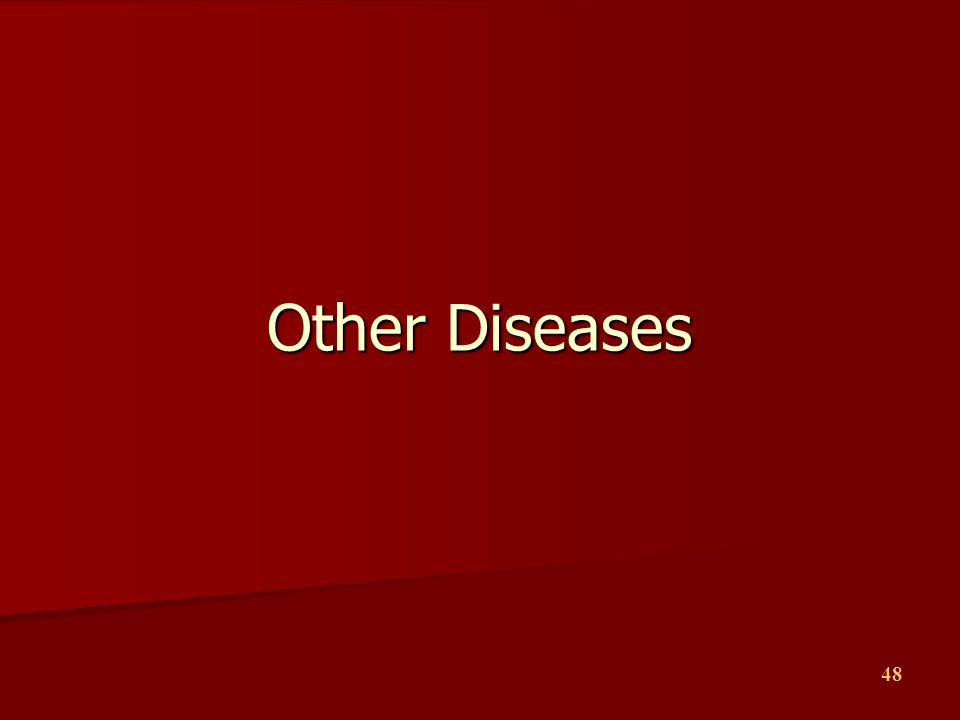 Other Diseases