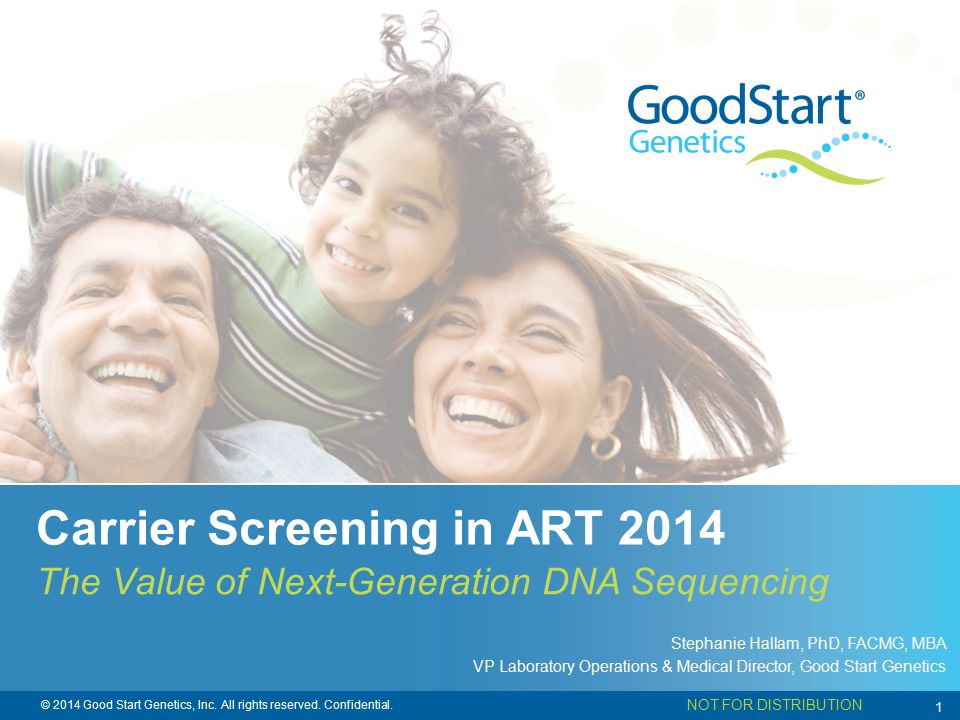 Carrier Screening in ART 2014