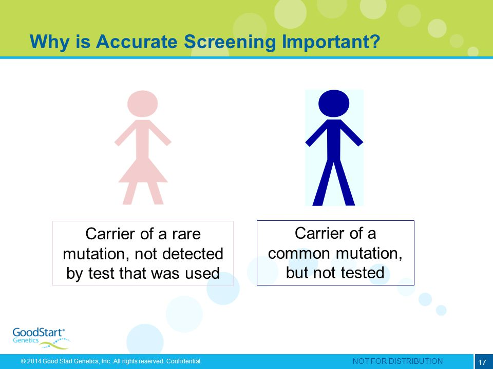 Why is Accurate Screening Important
