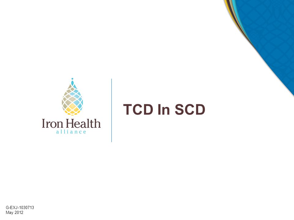 TCD In SCD