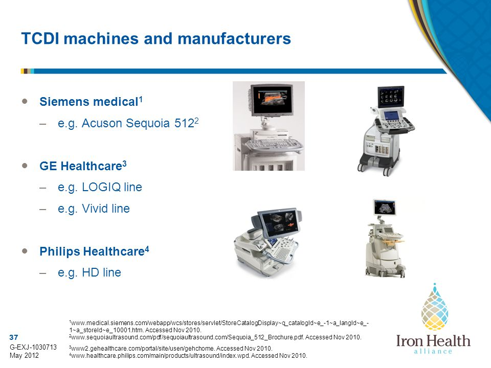 TCDI machines and manufacturers