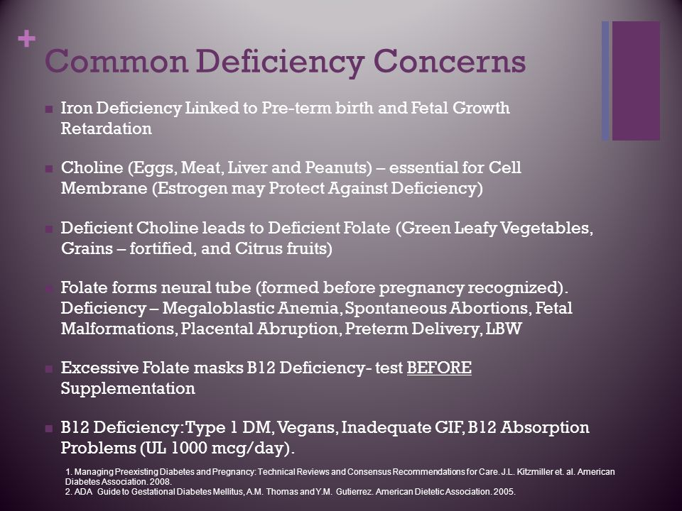 Common Deficiency Concerns