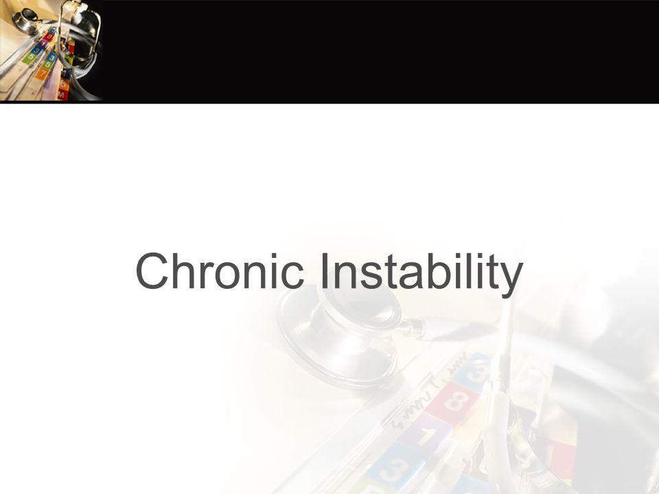 Chronic Instability