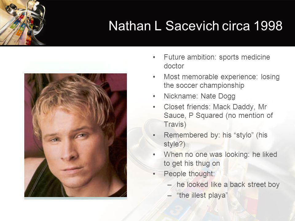 Nathan L Sacevich circa 1998