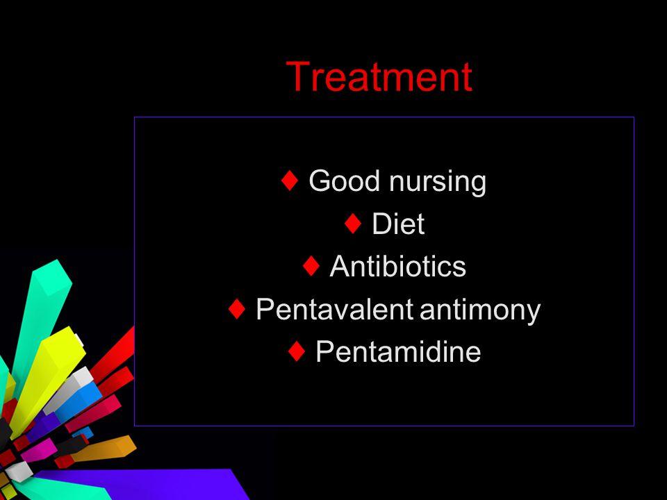 ♦ Pentavalent antimony