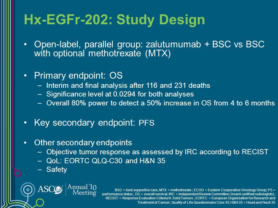Hx-EGFr-202: Study Design