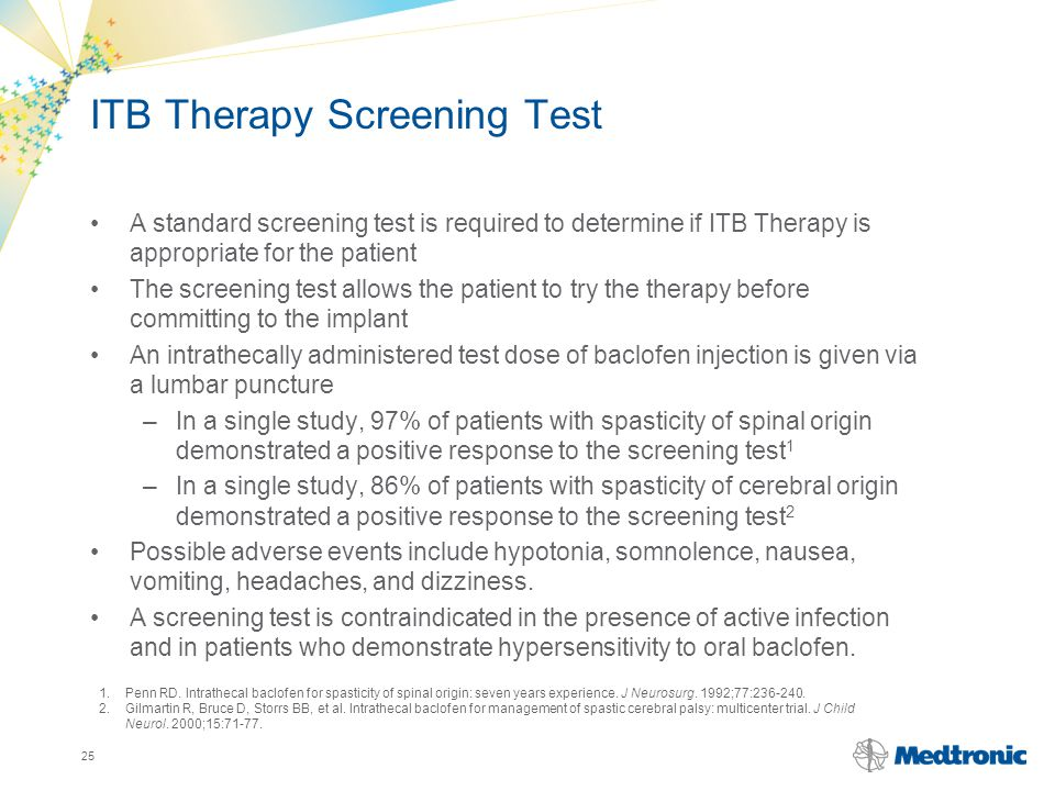 ITB Therapy Screening Test