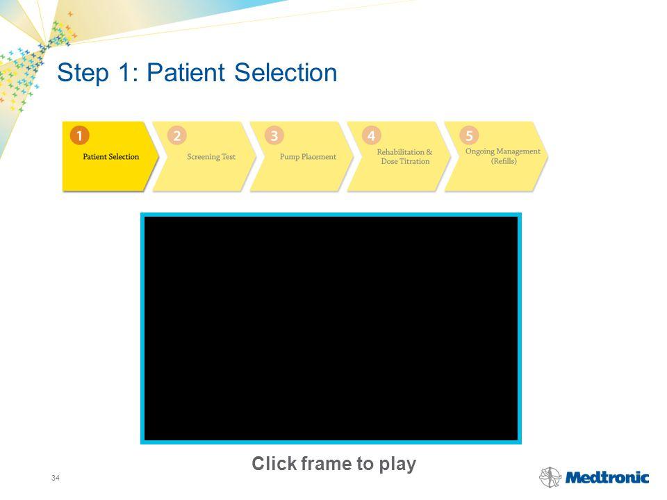 Step 1: Patient Selection