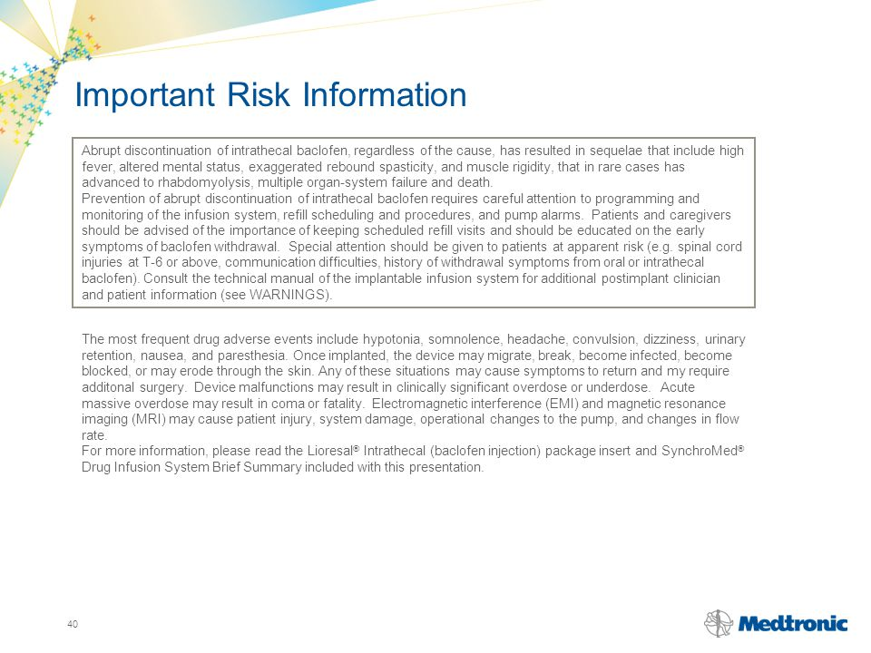 Important Risk Information