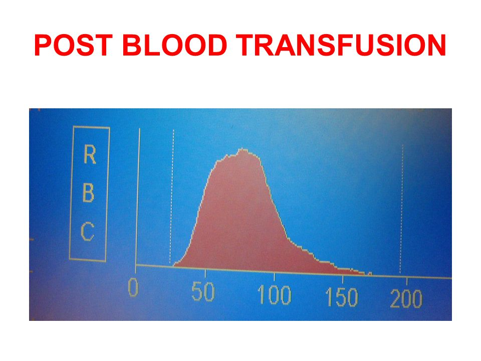 POST BLOOD TRANSFUSION