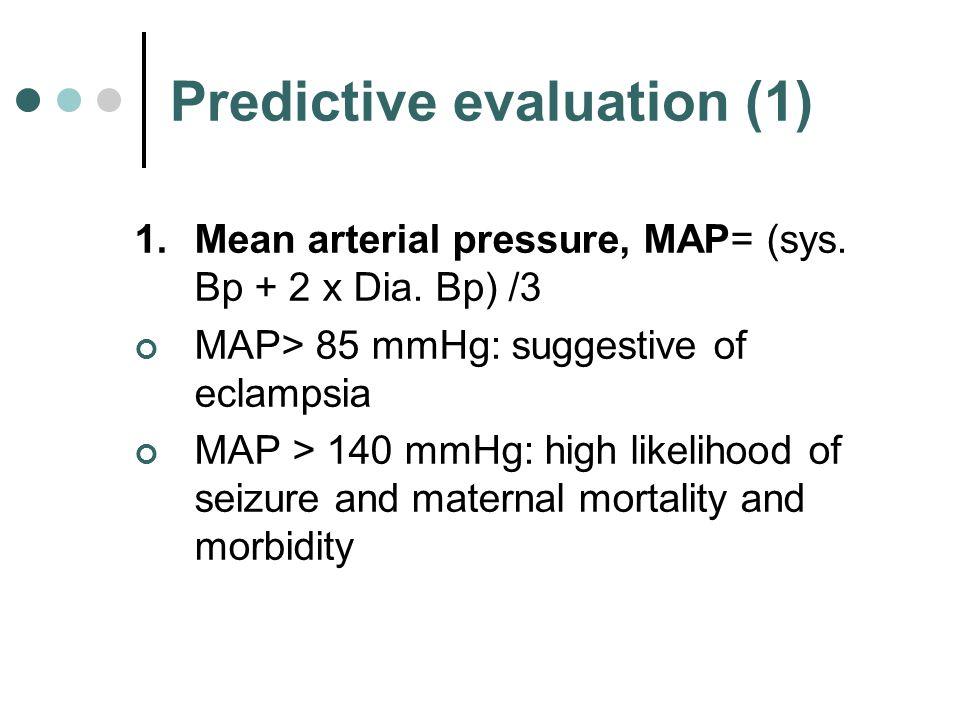 Predictive evaluation (1)