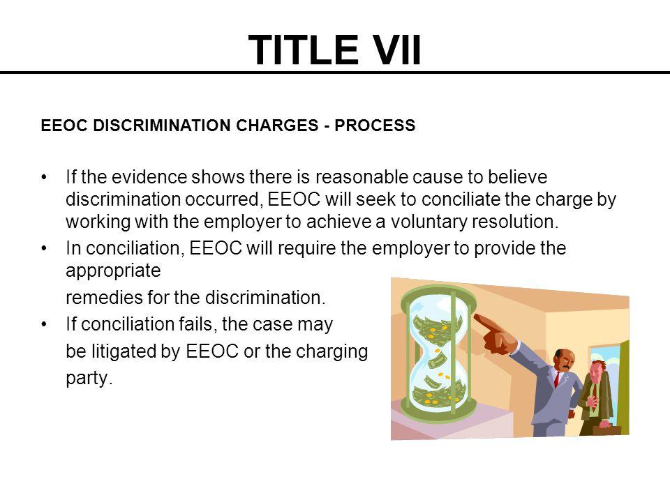 TITLE VII EEOC DISCRIMINATION CHARGES - PROCESS.