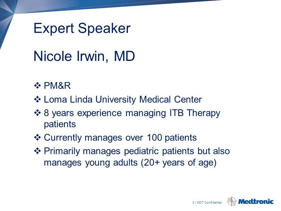 Expert Speaker Nicole Irwin, MD PM&R
