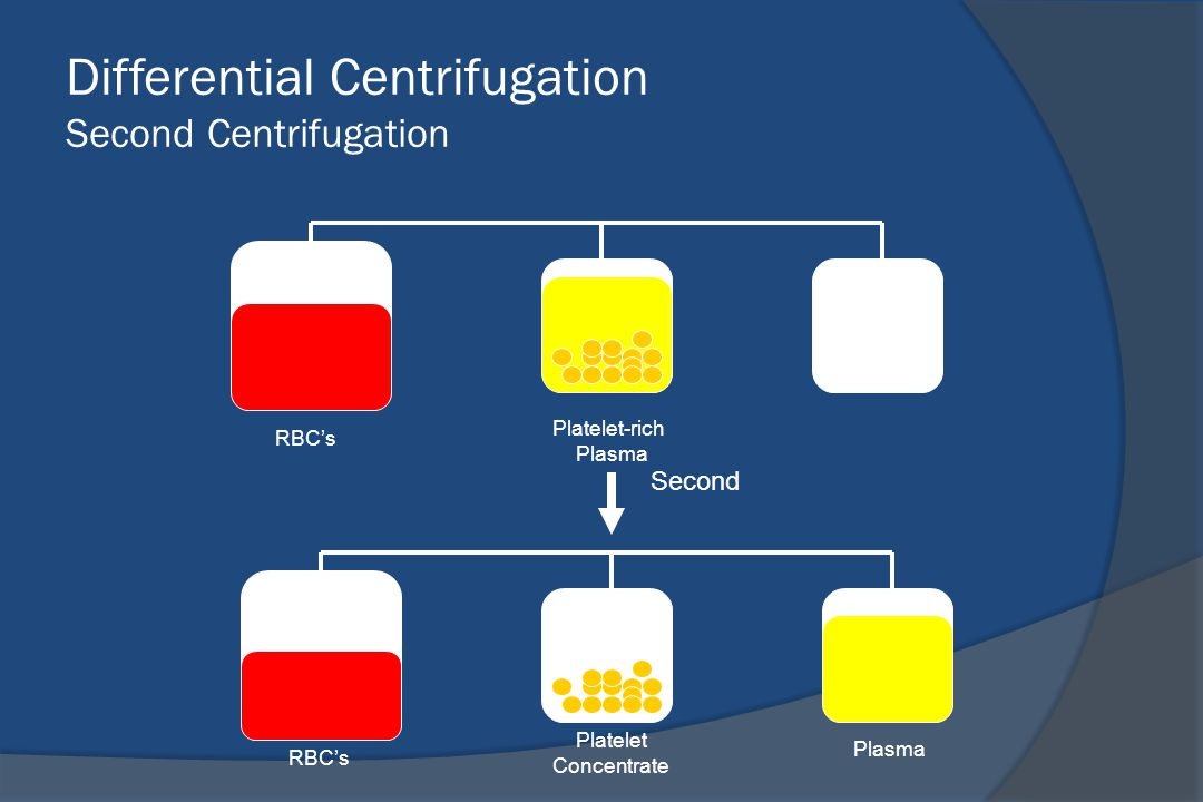 Differential Centrifugation Second Centrifugation