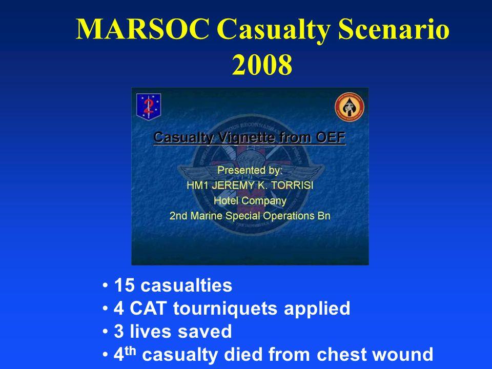 MARSOC Casualty Scenario 2008