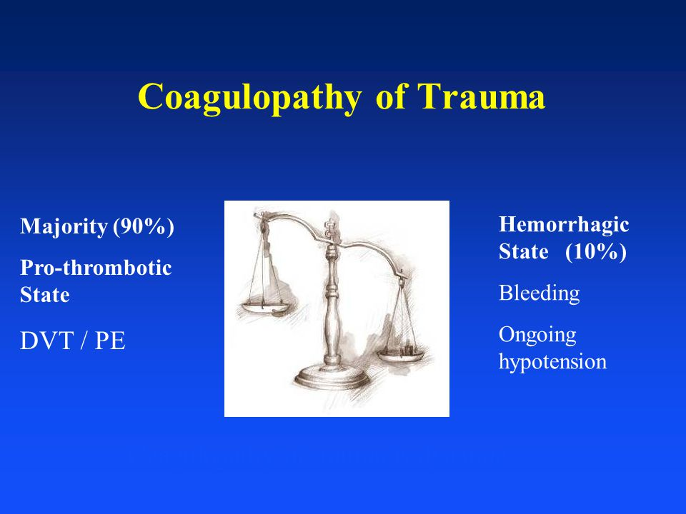 Coagulopathy of Trauma
