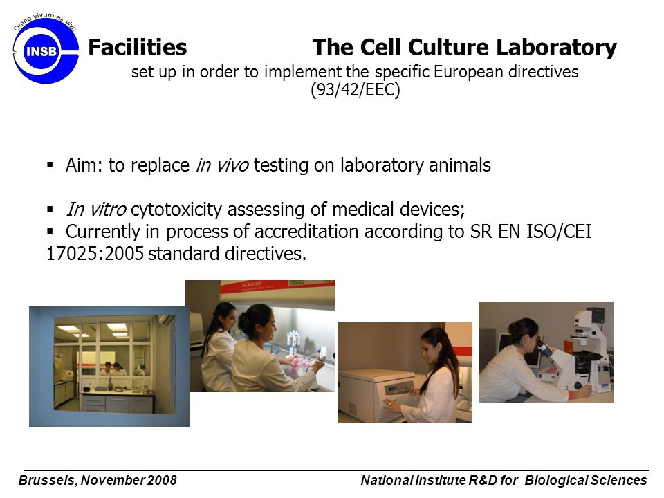 Facilities The Cell Culture Laboratory