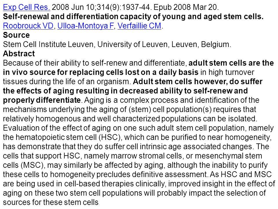 Exp Cell Res. 2008 Jun 10;314(9):1937-44. Epub 2008 Mar 20.