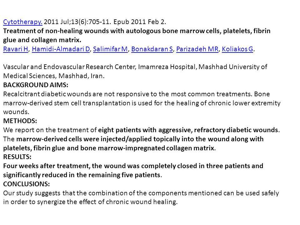 Cytotherapy. 2011 Jul;13(6):705-11. Epub 2011 Feb 2.