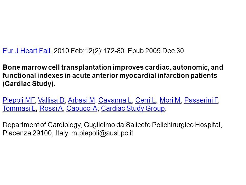 Eur J Heart Fail. 2010 Feb;12(2):172-80. Epub 2009 Dec 30.