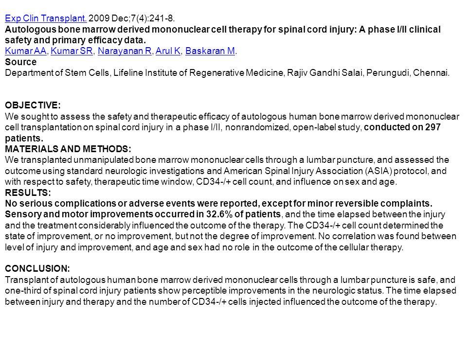 Exp Clin Transplant. 2009 Dec;7(4):241-8.