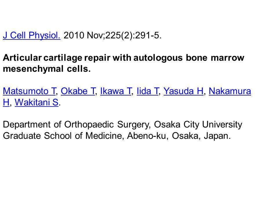 J Cell Physiol. 2010 Nov;225(2):291-5.