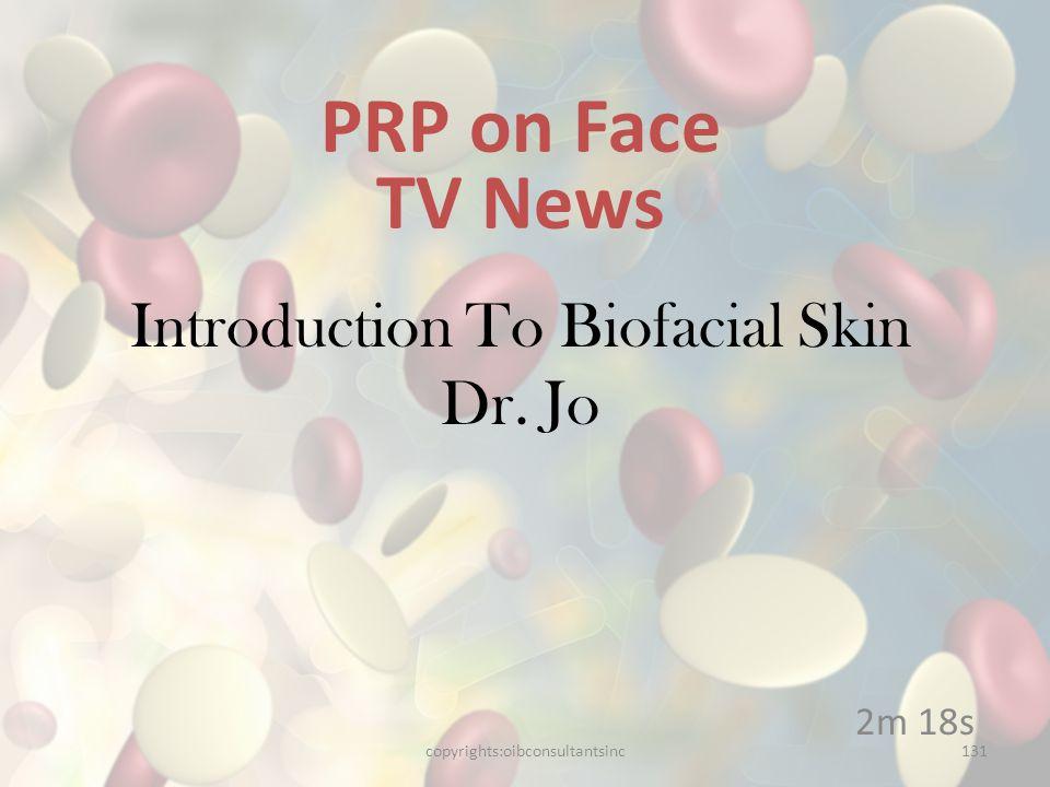Introduction To Biofacial Skin Dr. Jo