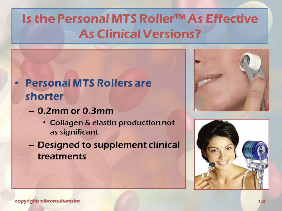 Is the Personal MTS Roller™ As Effective As Clinical Versions