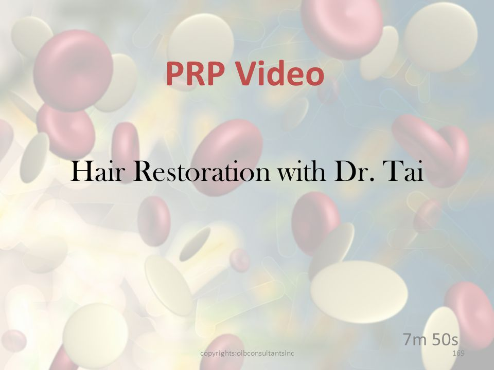 Hair Restoration with Dr. Tai