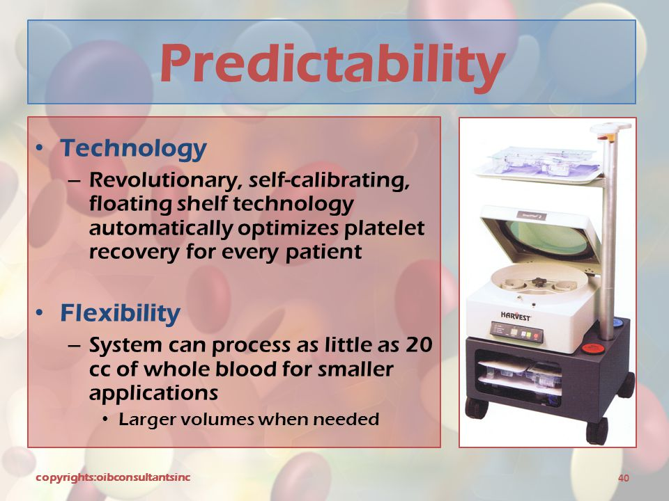 Predictability Technology Flexibility