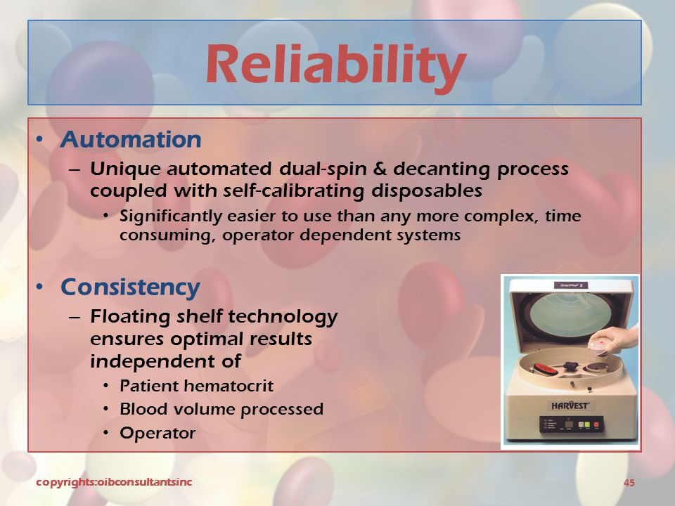 Reliability Automation Consistency