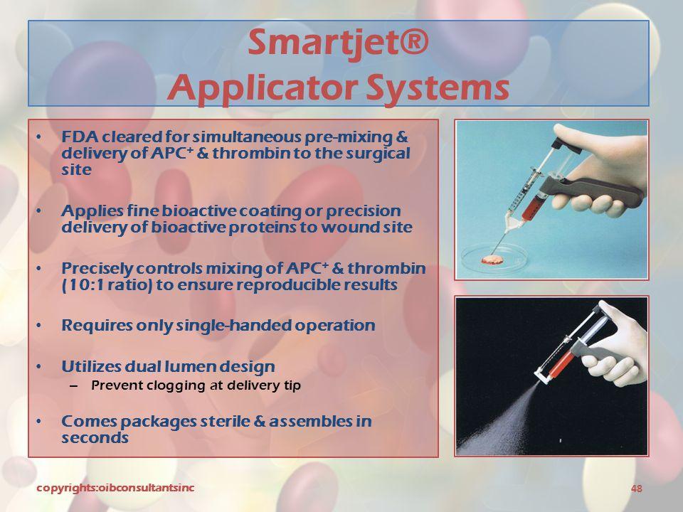 Smartjet® Applicator Systems