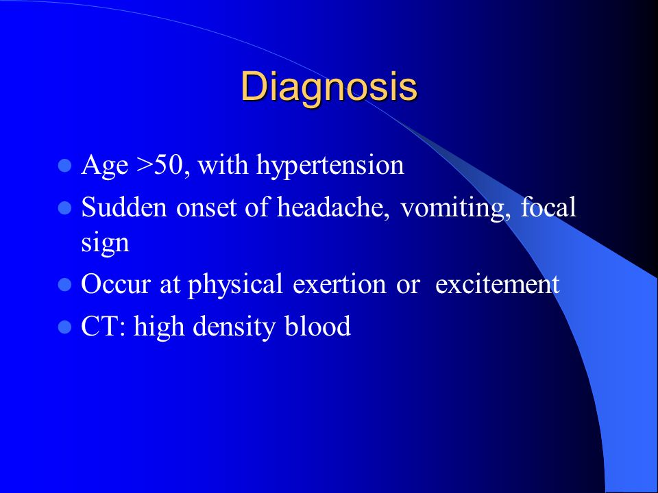 Diagnosis Age >50, with hypertension