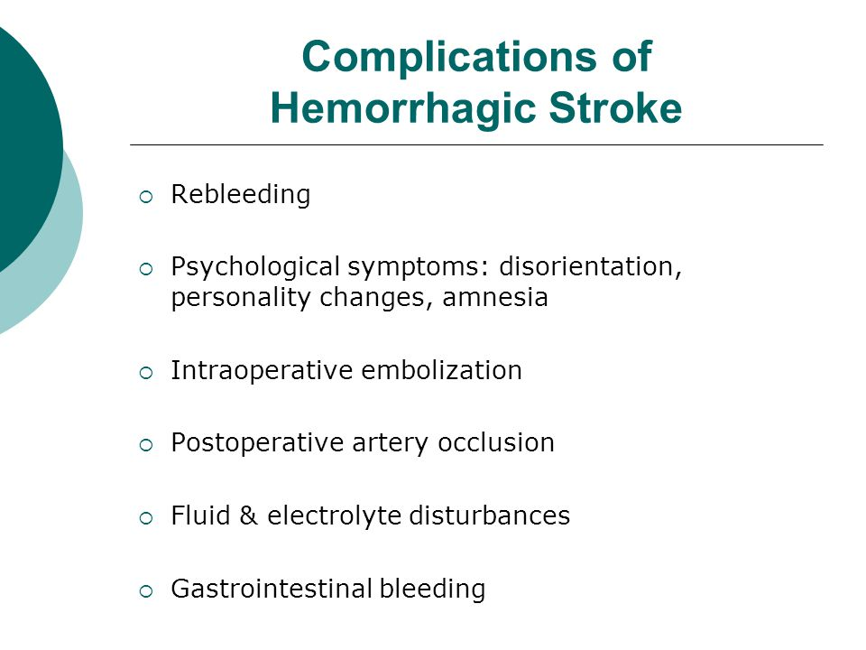 Raising Awareness of Hemorrhagic Stroke