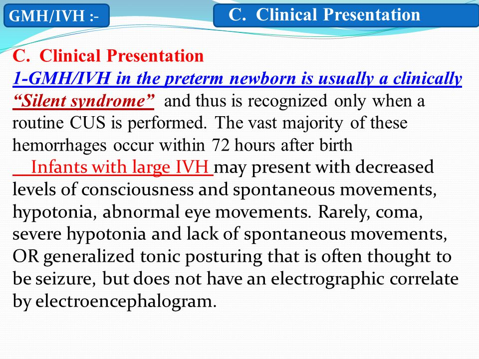 C. Clinical Presentation