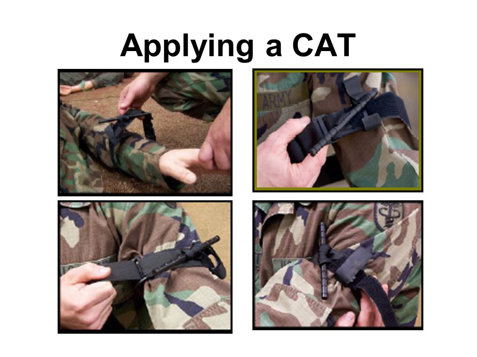 Applying a CAT