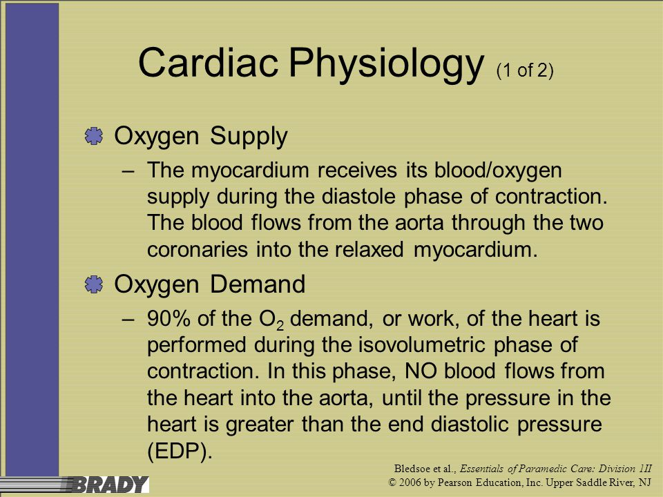 Cardiac Physiology (1 of 2)