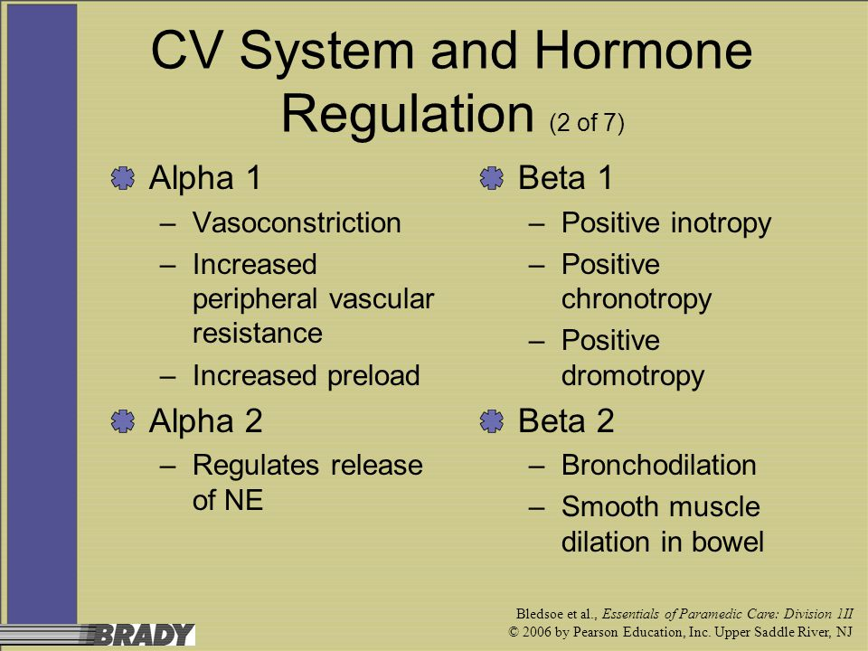 CV System and Hormone Regulation (2 of 7)