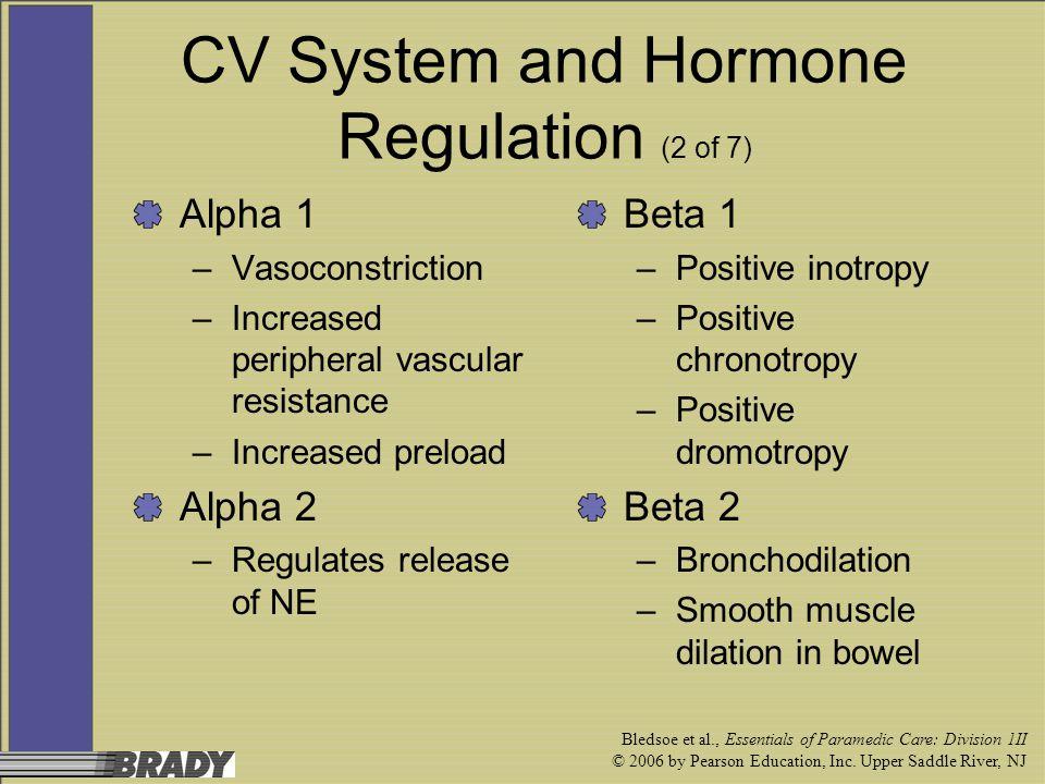 CV System and Hormone Regulation (2 of 7)